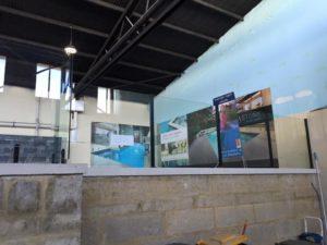 Pool fence display Barrier Reef Pools