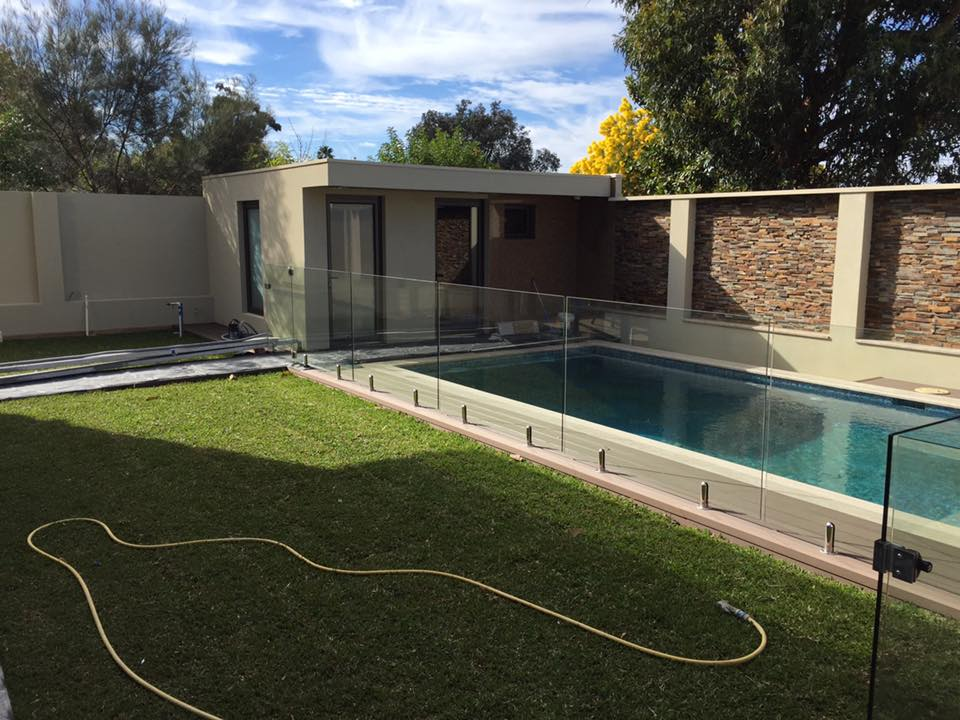 Pool Concrete Footing Details : Pool fencing and balustrading round spigots concrete