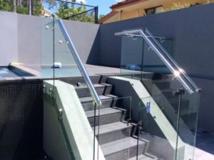 Pool fencing / balustrading
