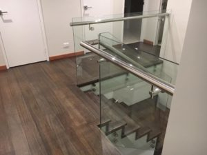 Woodlands - Internal glass balustrading