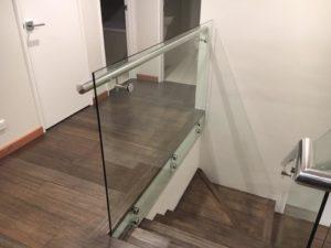 Woodlands - Internal glass balustrading