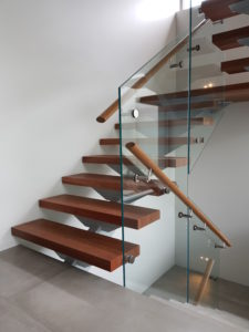 Glass Balustrade for Stairs