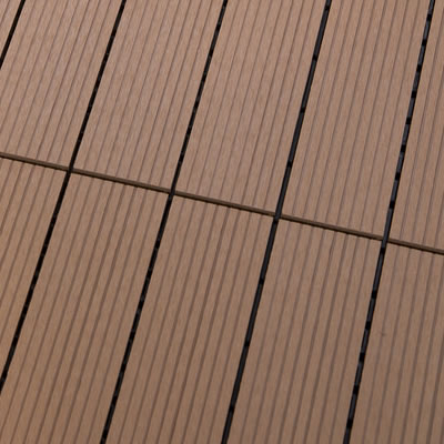Bamboo tiled decking