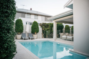 , Bay Road Home Glass Pool Fence