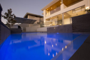 , City Beach Home Frameless Glass Pool Fence